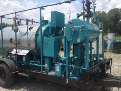 Mobile Rental Boiler