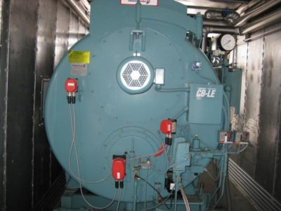 Cleaver-Brooks Rental Mobile Boiler