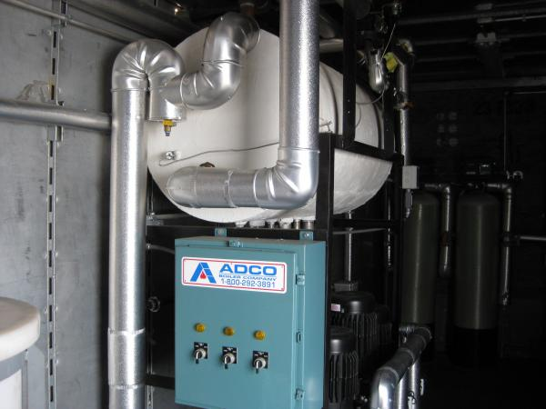 100 HP Mobile Boiler Room - ADCO Companies